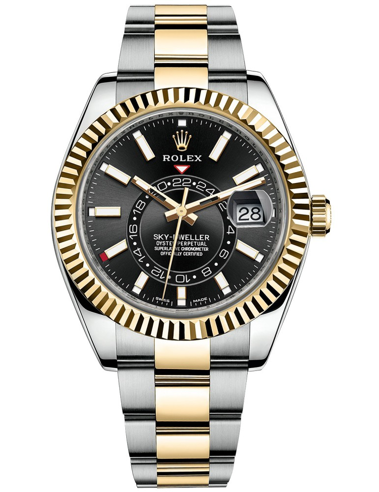 Rolex Sky-Dweller Steel-Yellow Gold 326933-0002